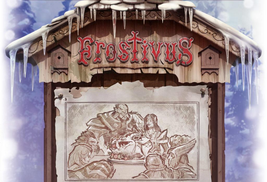 Холодрыжество. Frostivus. Бесплатная сокровищница Dota 2