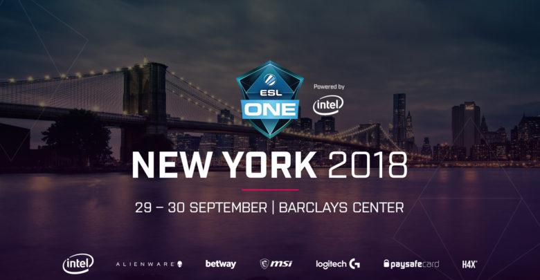 расписание ESL One New York