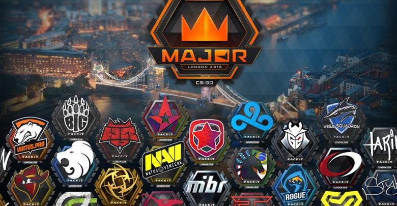 Расписание плей-офф FACEIT Major London 2018