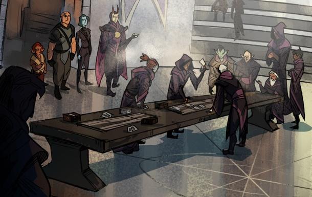 Valve выпустила первый комикс по Artifact