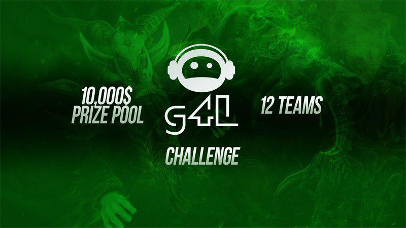 g4L Challenge logo dota2