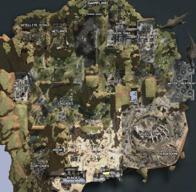 Карту Apex Legends слили год назад