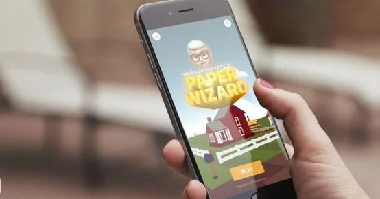 Apple выпустила мобильную игру Warren Buffett's Paper Wizard