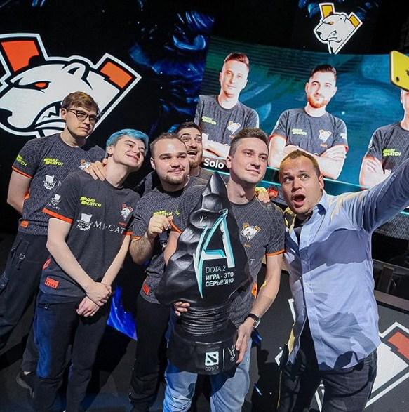 Virtus.pro выигралана Adrenaline Cyber League 2019