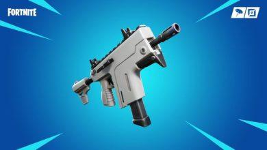 Обновление 9.10 в Fortnite. Добавлен залповый пистолет‑пулемет