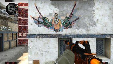 Памятные граффити киберспортсменов в CS:GO