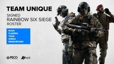 Photo of Unique подписала ростер по Rainbow Six Siege. В состав вошел игрок из Казахстана.