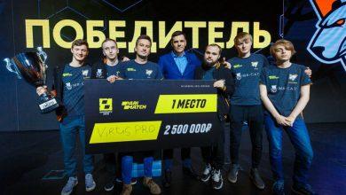 Photo of Первая победа Virtus.pro в новом составе