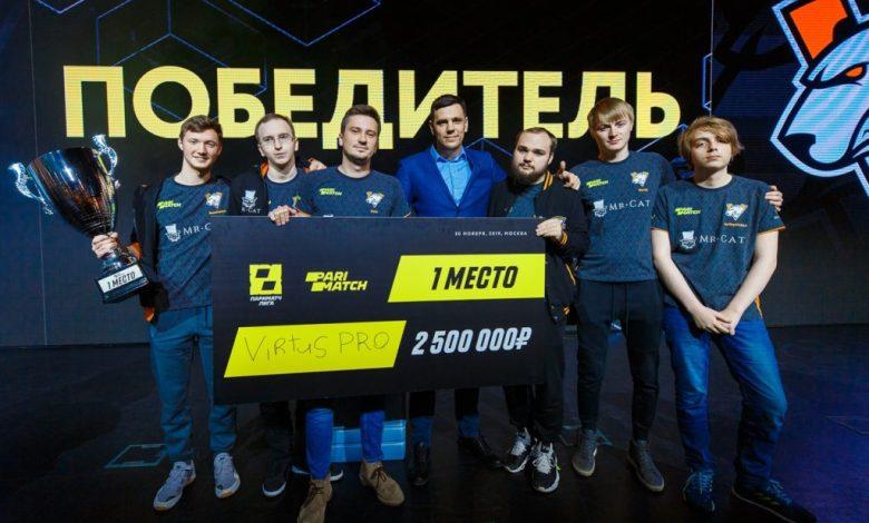 Первая победа Virtus.pro в новом составе