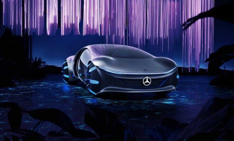 Mercedes-Benz показали автомобиль Avatar